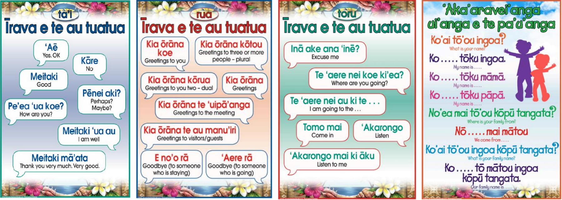 Your Introduction To Cook Island Language Coconet