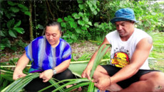 How to Weave a Basket - Niuean style