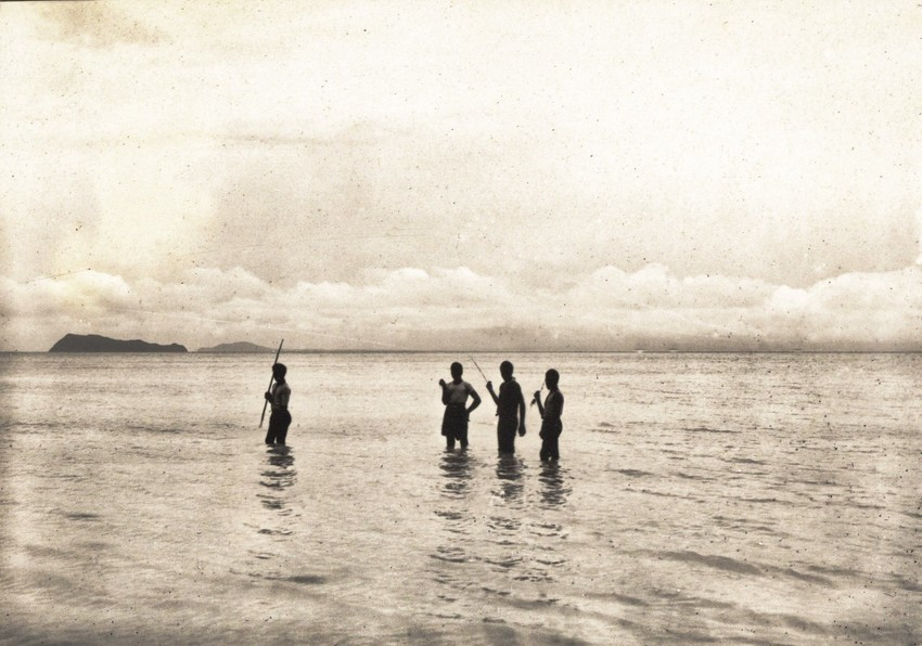 View from Mulifanua, circa 1914. Photo: Gesa Akkerman-Ohle Collection