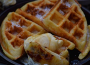 Yeast raised Coconut Waffles