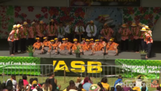 Polyfest Cook Islands Stage - Mangere College
