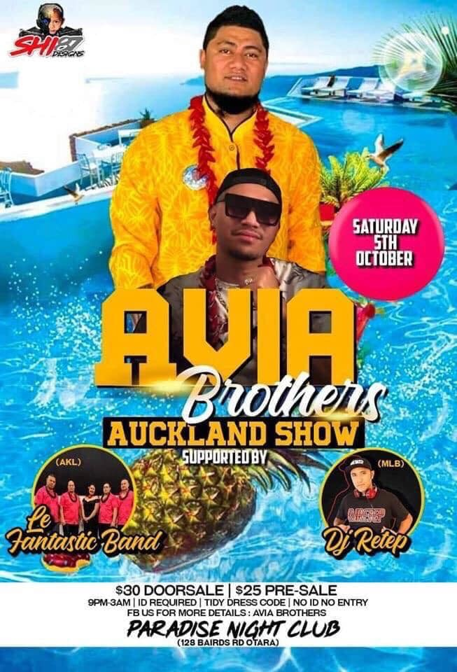 Avia Brothers Auckland Gig