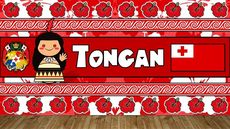 THE SOUND OF THE TONGAN LANGUAGE