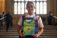 12 year old Samoan student launches 'The Voice of an Island' on world stage
