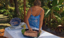 Island eating: Poke from the Cook Islands