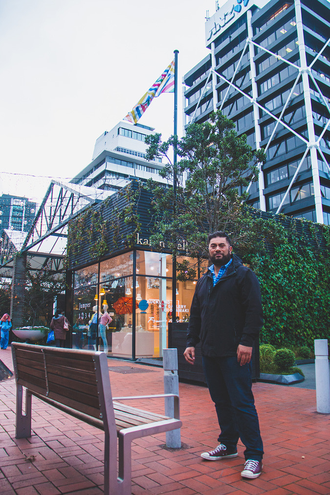 Loa and his Britomart Flag project