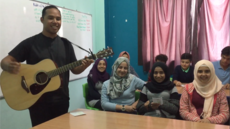 Syrian Refugees sing a Traditional Samoan Tune