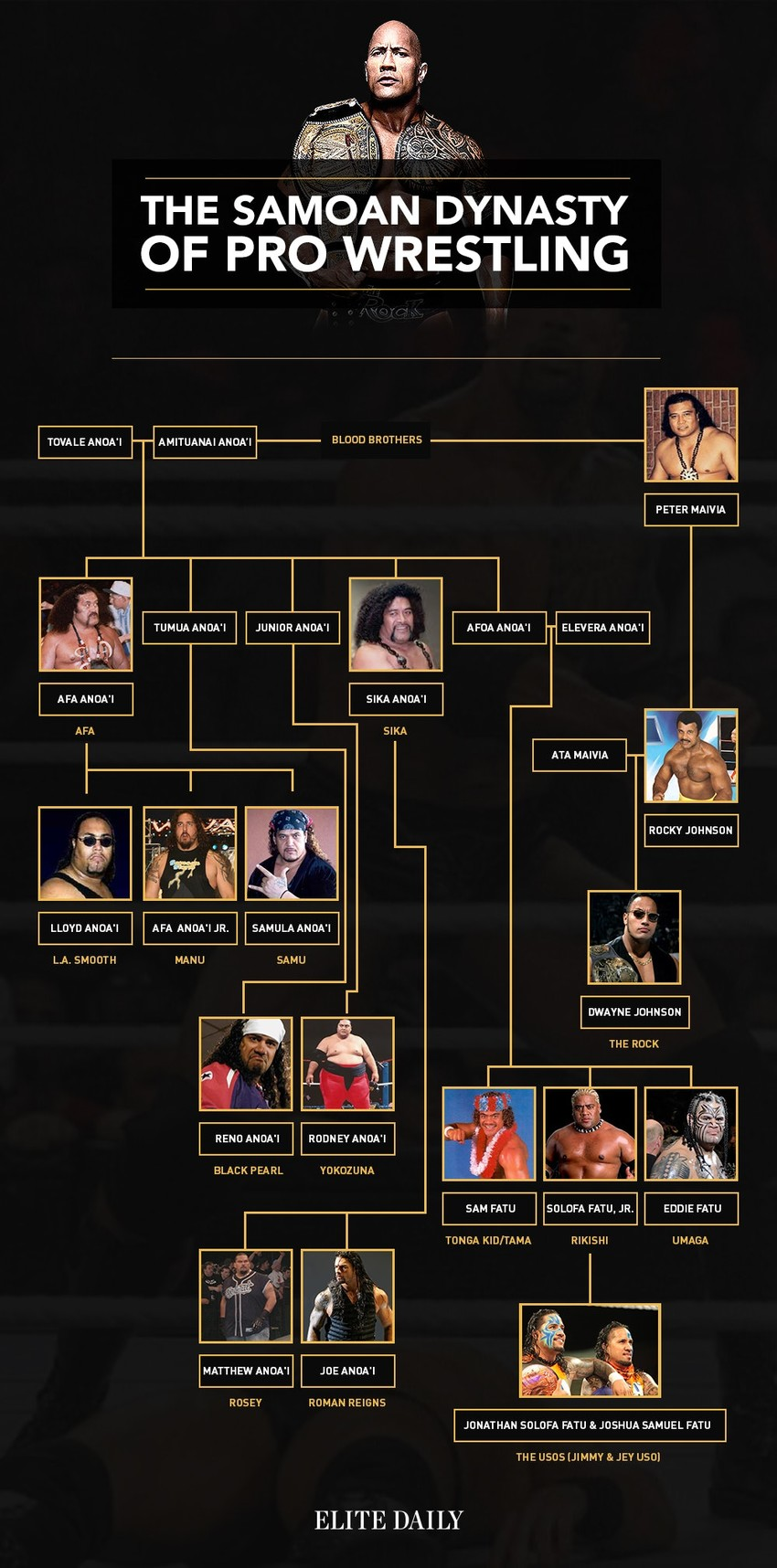 Anoa'i family wrestling dynasty