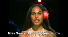 Poly-Archive: Miss Samoa at Miss World Pageants 1977 - 1988