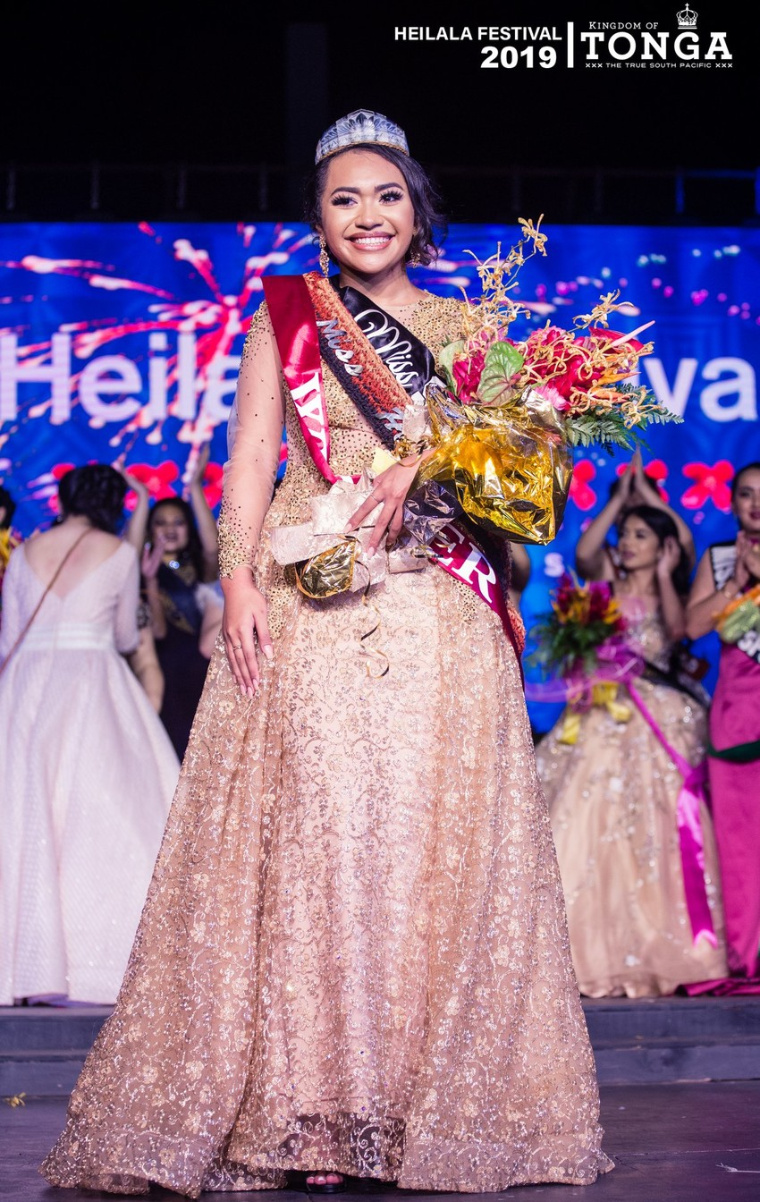 Miss Heilala 2019 Yehenara Soukop Photo Credit: Miss Heilala Pageant Facebook page