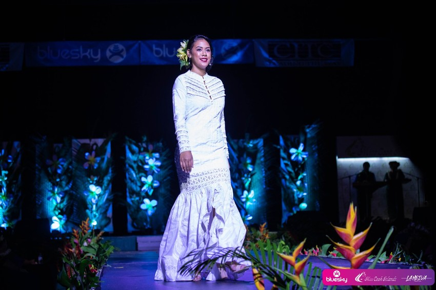 Runner Up Miss Maeva Nui - Eva Parker