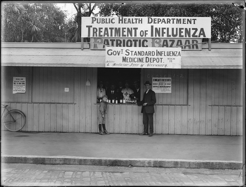 NZ treatment for influenza depot