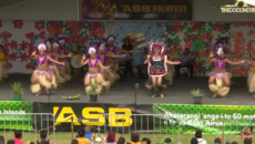 Polyfest Cook Islands Stage - Sir Edmund Hillary Collegiate