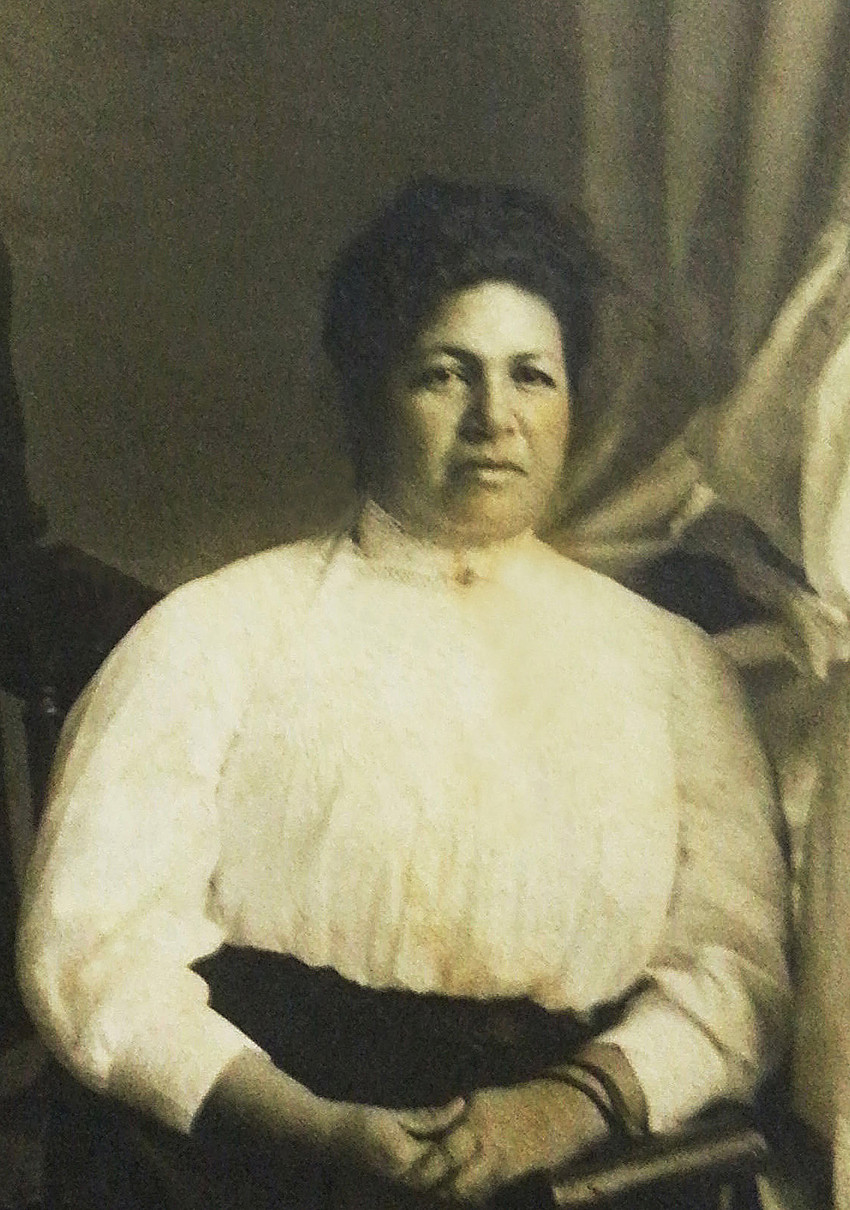 Josephine Dāvid, 1881-1918. (Kamauoha Family Collection)