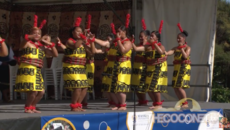 Polyfest 2015 Tonga Stage Southern Cross Campus - Faha'iula