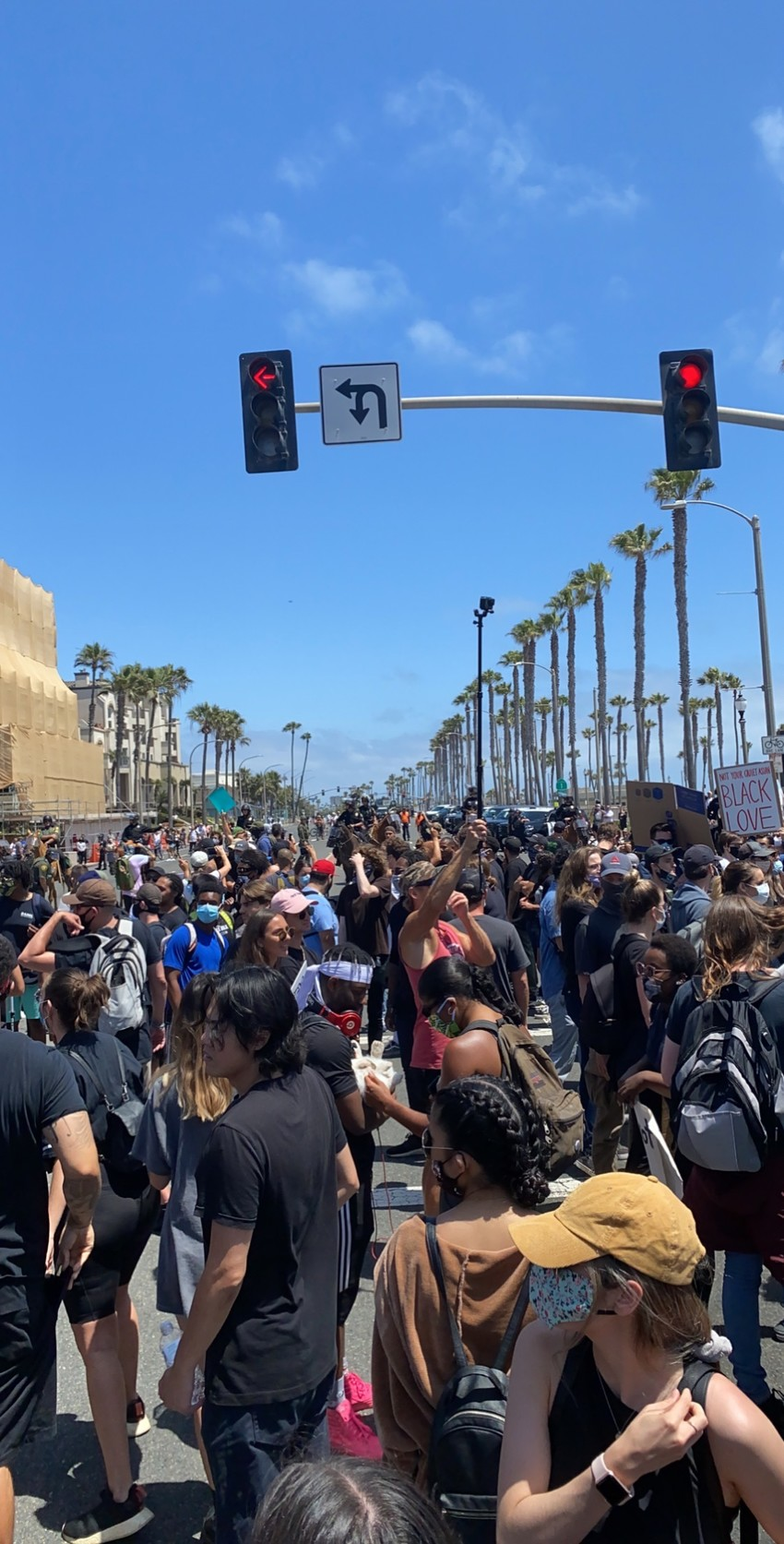 Black Lives Matter march, Huntington Beach, California, 07 June 20 - Full Photo Set credit/Copyright to: Celina Sosefina Yandall