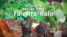 How to make fa'alifu kalo