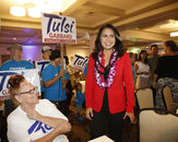 TULSI GABBARD - THE FIRST SAMOAN TO RUN FOR PRESIDENT OF THE UNITED STATES