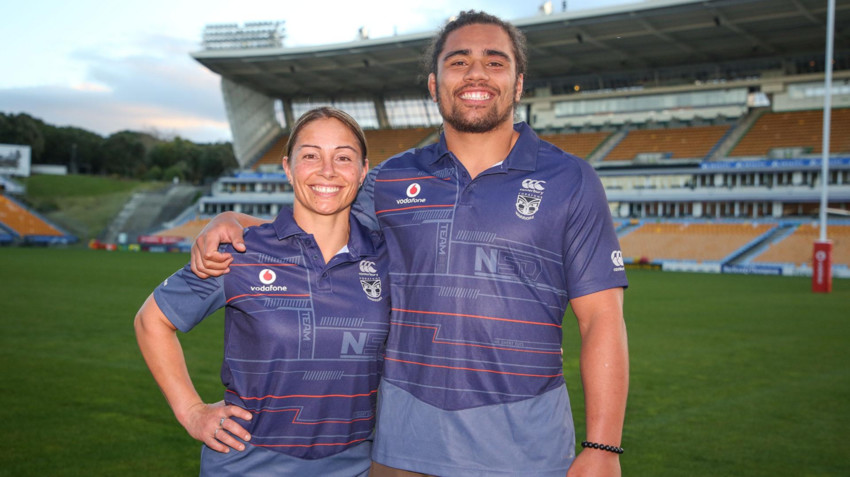 Lorina & her son Isaiah Papali'i - the 1st mother & son duo representing in the NRL for the same club.