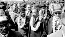 Dr. Martin Luther King and the lei connection