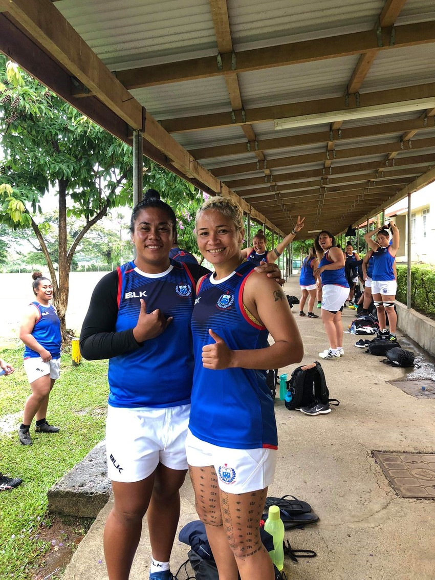 Manu Sina - Samoa Captain: Masuisui Pauaraisa (Right)