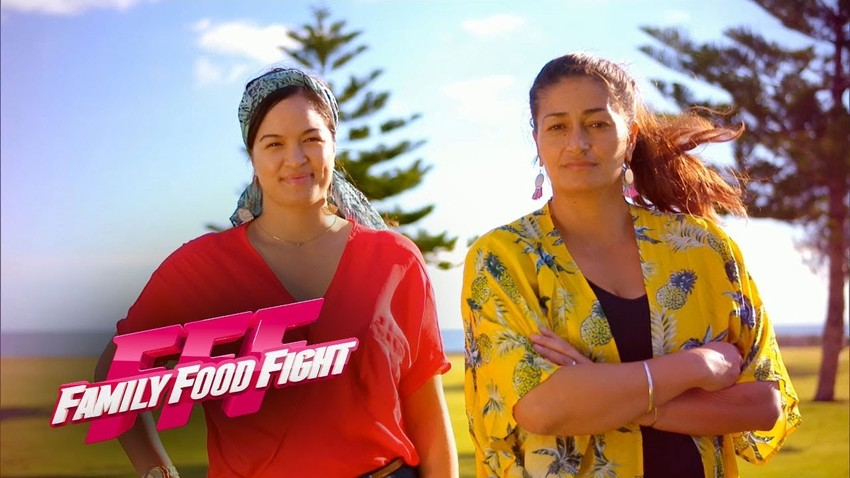 Ocean & Patrica on Family Food Fight