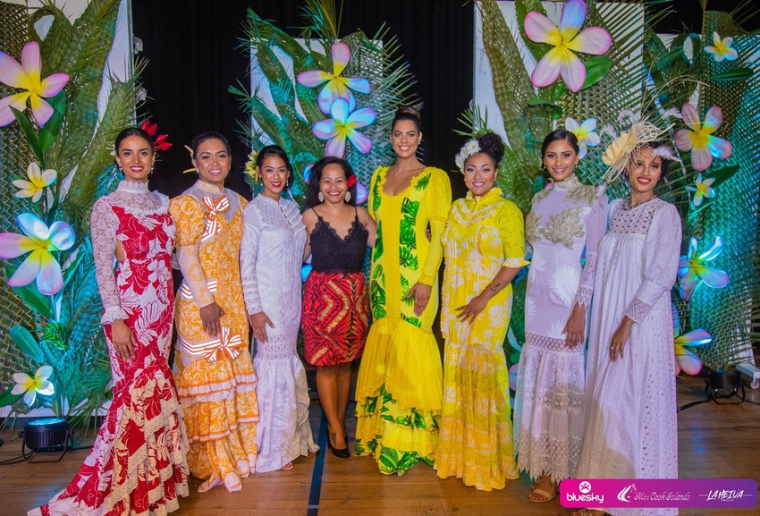 Miss Cook Islands contestants 2019