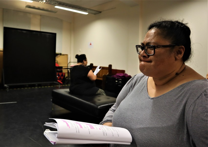 Bels in rehearsal Photo credit: Vela Manusaute