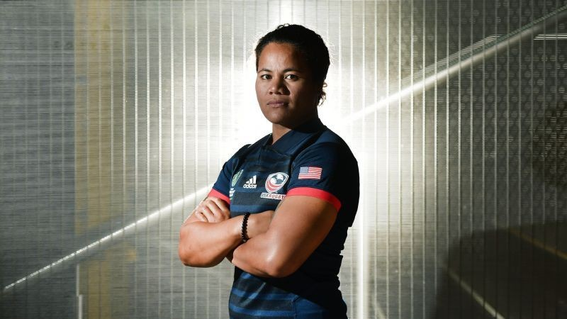 US Eagles Captain (USA): Tiffany Fa'ae'e