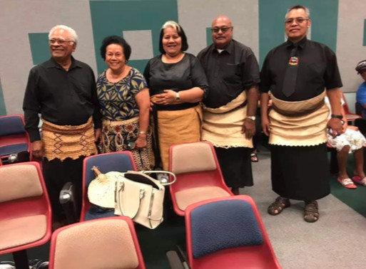 Members of the Brisbane Tongan Community supporting the QLD Tongan Language School