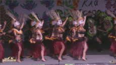COOK ISLANDS STAGE - AORERE COLLEGE: FULL PERFORMANCE