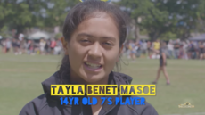 Rising Rugby Star Taylor Benet Masoe | Young, Gifted & Brown