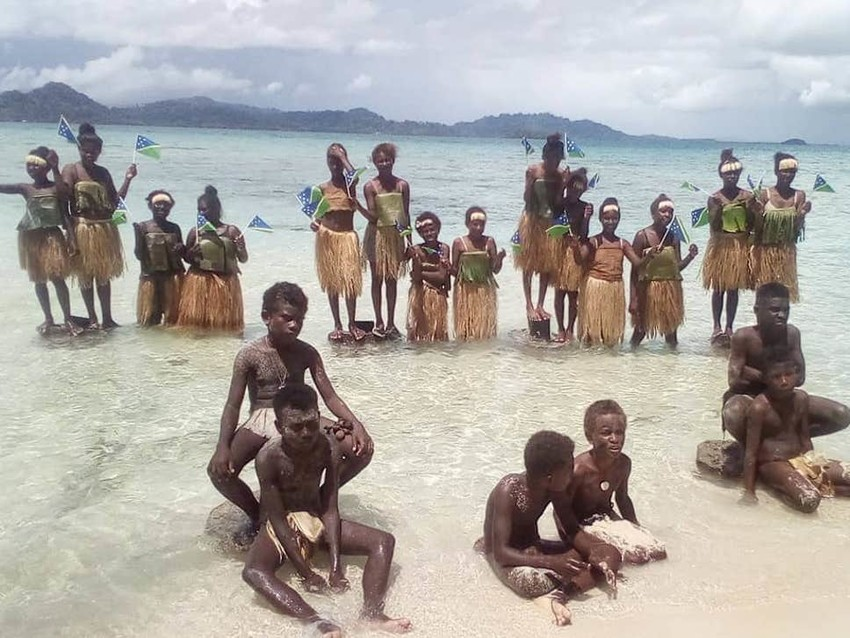 Solomon Islands protest. PC Independent.co.uk