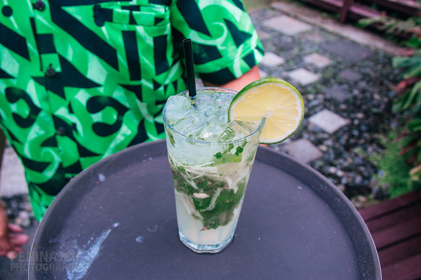 Sinalei's Ginger Mojito
