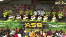 Polyfest Cook Islands Stage - Southern Cross Campus