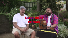 SILENT NIGHT / PO MALU - SWISS & JERRY-MOSES ROEBECK
