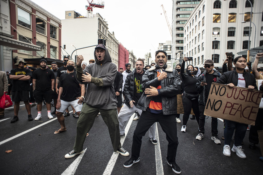 Black Lives Matter March, Auckland, 01 June 20 - Full Photo Set Credit/Copyright to: Raymond Sagapolutele