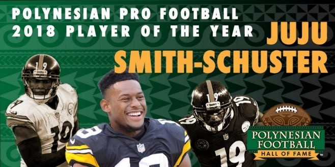 Polynesian Pro Football 2018 Player of the Year - Juju Smith-Schuster