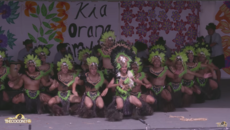 COOK ISLANDS STAGE - AORERE COLLEGE: URA PA'U