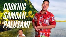 Cooking Samoan Food with Asuelu: Palusami & Taro